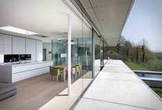 Villa K in Thuringia, Germany, byPaul de Ruiter Architects