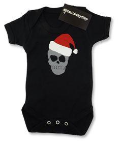 Skull Christmas vest