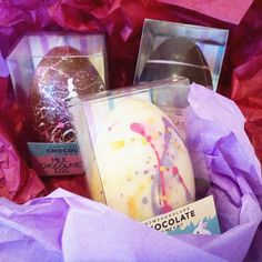hollow egg collection easter chocolate newfoundland chocolate company