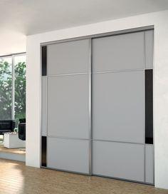 id e d co pour une chambre grise violette et noire pax. Black Bedroom Furniture Sets. Home Design Ideas