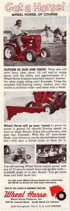 1963 Wheel Horse