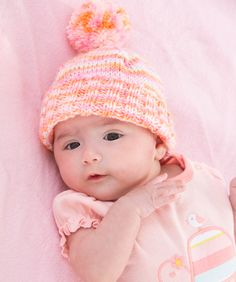 Are you anxiously waiting for baby to arrive? Do you have baby showers in your future? Here is the perfect little hat to knit for a new baby. There's no better way to relax and spend some productive time than knitting!