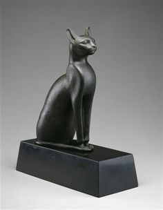 Sacred Cat of Bast, Middle East , ca 7th/6th Century B.C.