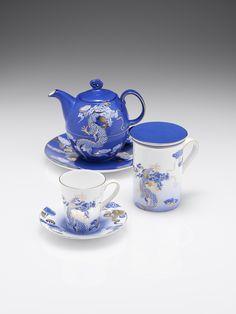 Shanghai Tang - Dragon Tea Set