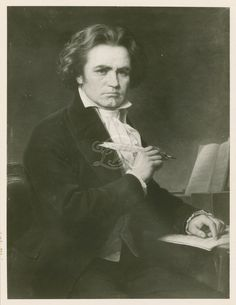 Ludwig van Beethoven - the great German-born composer.  1770-1827.