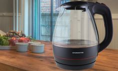 Groupon - $ 24.99 for an Ovente Glass Cord-Free Electric Kettle ($ 49.99 List Price). Free Shipping and Returns.. Groupon deal price: $24.99