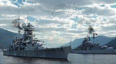 Bismark & Prinz Eugen