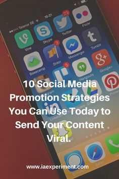 Learn social media marketing tricks that can send every article your write viral. They're simple and when used correctly - they're powerful.