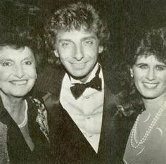 Edna, Barry and Dana Robbins
