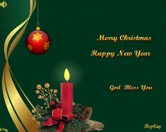 Merry Christ-filled mas to all of my Cyber friends and family! May you all find Truth, Peace, Joy & happiness N the New Year!