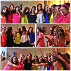 Energie, sourires, ambiance de dingue, l'#evjf de Rachel nous a apporté la folie en ce dimanche! On adore! Merci les filles #lumiiq