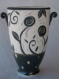 sgraffito design Archives - Ceramics and Pottery Arts and Resources