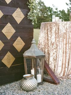 Rustic-glam wedding decor: http://www.stylemepretty.com/california-weddings/2015/08/25/glamorous-garden-inspired-ranch-wedding-in-santa-paula/ | Photography: Anna Delores - http://www.annadelores.com/