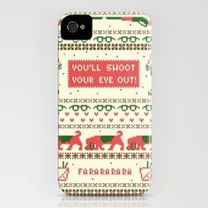 A Christmas Sweater iPhone Case by Sarajea - $35.00