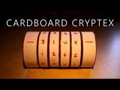 Cardboard Cryptex Safe!
