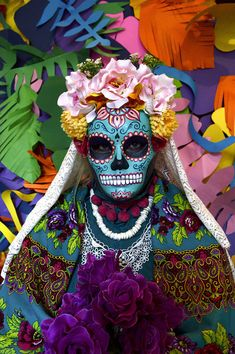 Catrina mask katrina mexican mask gift for her paper mache