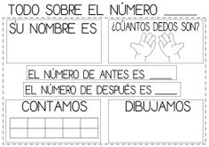 TODO SOBRE EL NÚMERO... Spanish Lessons For Kids, Spanish Teaching Resources, Math Resources, Teaching Math, Math Activities, Bilingual Classroom, Math Classroom, Maths Area, Elementary Spanish