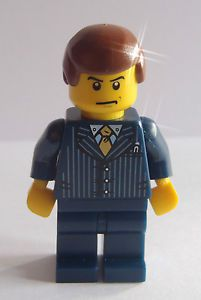 Lego BREAKING BAD Custom made Saul Goodman in Lawyer Attorney Suit