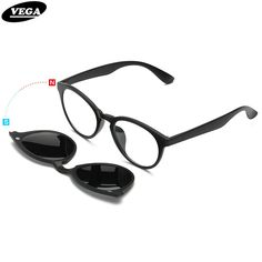 be83dc706cce Like and Share if you want this VEGA Polarized Clip On Sunglasses For Eye  Glasses Frames