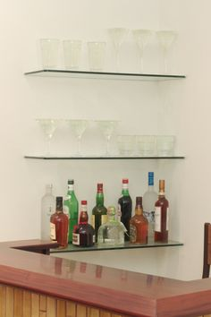 PHOTO GALLERY - glass shelving