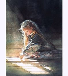 Image result for children's watercolor portraits