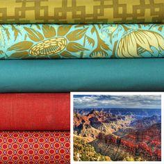 Grand Views - available soon at Marmalade Fabrics