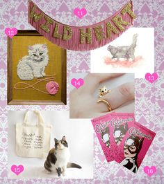 Guest Curator: Cat Party | The Etsy Blog