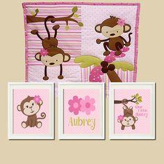 Baby nursery boy monkey etsy Ideas for 2019 Baby Nursery Decor, Nursery Themes, Baby Decor, Nursery Wall Art, Girl Nursery, Nursery Ideas, Pheonix Marie, Monkey Nursery, Monkey Bedroom