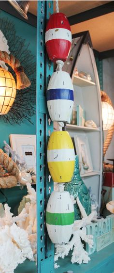 What a fun and decorative Nautical Floater - Buoy Rope, $31.99 - Just like in Pottery Barn