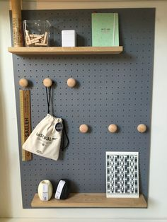 I like the idea of little bag storage. Good for displaying craft makes too.