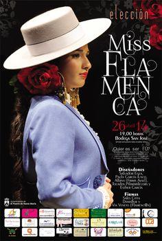 La elección de Miss Flamenca será el próximo sábado 26 de abril en la Bodega de San José, a partir de las 19:00 horas, en Plaza Elías Ahuja, frente a la Plaza de Toros.