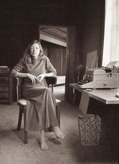 "JOAN DIDION ""I write entirely to find out what I'm thinking, what I'm looking at, what I see and what it means."" Joan Didion (born December is an American author best known for her novels and her literary journalism."