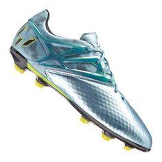 adidas Messi 15.1 FG/AG J Kids Blau Gelb