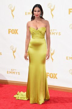 Padma Lakshmi | All The Looks From The 2015 Emmy Awards