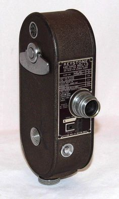 https://flic.kr/p/BH9nAn | Vintage Keystone 8mm Home Movie Camera, Model K-36, Made In USA, Circa 1949