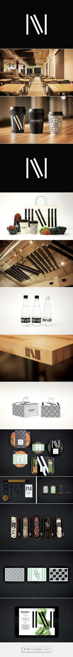 New Brand Identity for Nourcy by lg2boutique — BP&O - created via http://pinthemall.net
