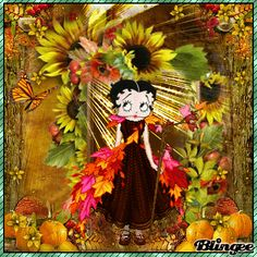 betty boop blingee images | Betty Boop Autumn Entry Fotografía #117023651 | Blingee.com