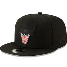cheap for discount 707a6 d92d0 Chicago Bulls New Era Metal   Thread 9FIFTY - Adjustable Hat – Black, Your  Price