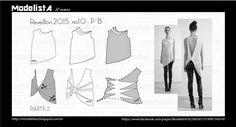 ModelistA: ANO NOVO - 10/ Part.2 Modelagem de blusa desestruturada e assimétrica