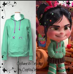 Vanellope von Schweetz Hoodie from Wreck it Ralph - NIP - Large Scary Costumes, Cute Costumes, Family Halloween Costumes, Halloween 2019, Costume Ideas, Halloween Birthday, Cosplay Ideas, Halloween Ideas, Happy Halloween