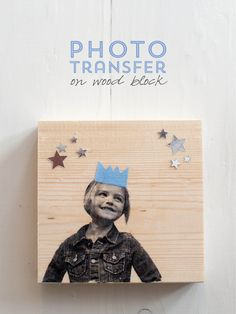 DIY photo transfer on wood, aliceandlois.com :: I'd love this as a gift idea or for my own home!