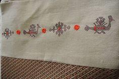 Batoh s motívom vták hrbáč /hnedý-červený/