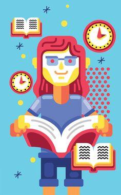 Illustrations for Guia do Estudante Magazine on Behance