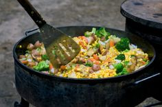 Learn how to cook in a Dutch Oven!