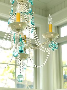 """I am romantic, but not too much, so this chandelier is perfect for me. It's romantic, but also has a """"fun"""" quality to it."""