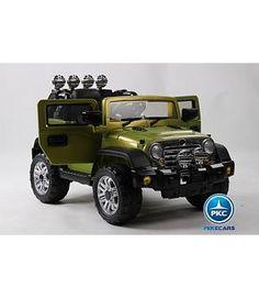 Jeep Rangler 12v mando RC, verde
