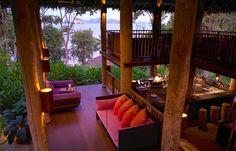 The Den bar. © Six Senses Hotels Resorts Spas
