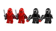 Minifigures: Emperor's Royal Guard(x2) Death Star Trooper(x2)