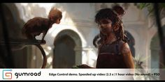 Video showing the demo done for Edge Control Expo in Toronto. =Speeded up video ( about 1 hr of footage) showing my process (No commentary). -PSD. - Photoshop Brushes