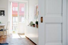 piso sueco decoración piso nórdico muebles reciclados en blanco muebles de…